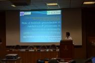 Maki Tsujimura's presentation.
